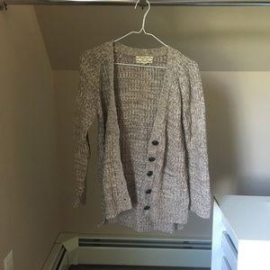Cozy knit cardigan